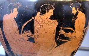 Muziekles_Griekse_vaas_ca_510vChr